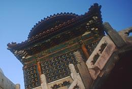 Dagoba, Beihai Park, Beijing, China.