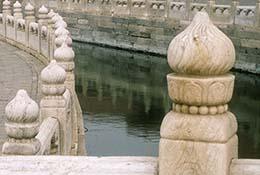 Golden River, Forbidden City, Beijing, China.