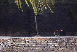 Exterior Wall of the Forbidden City, Beijing, China