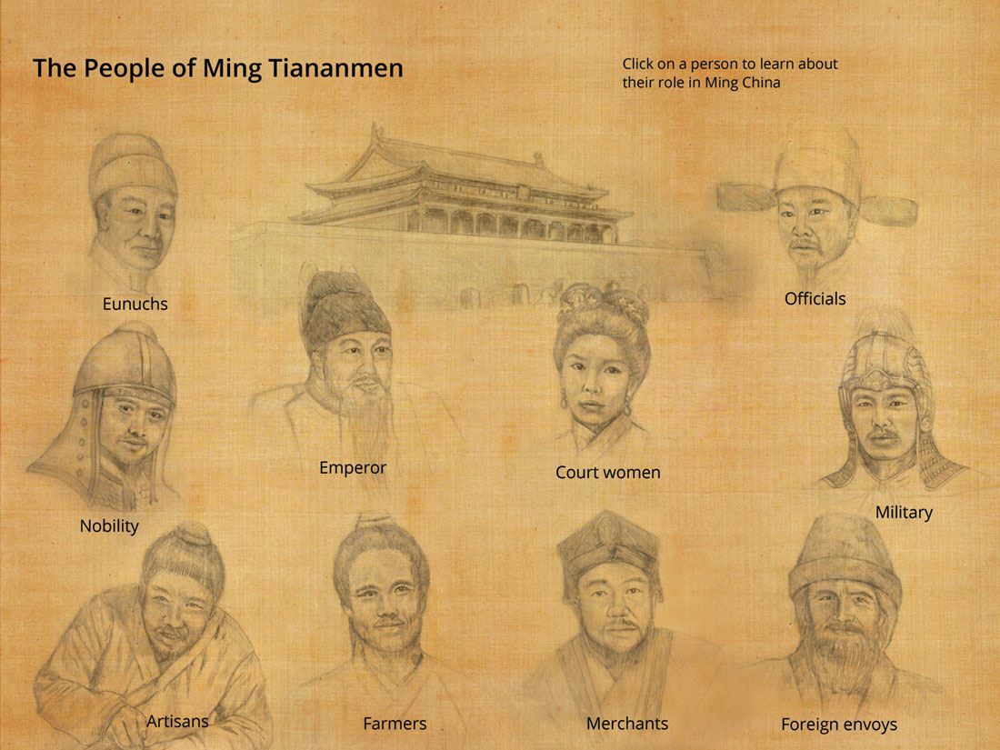 The People of Ming Tiananmen