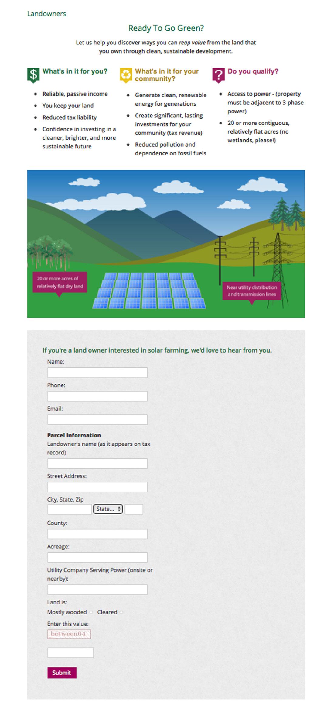 REAP landowners infographic