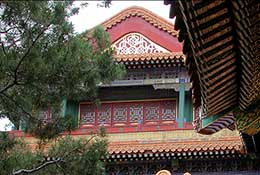 Roofs, Forbidden City, Beijing, China.