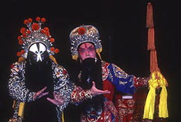 Peking opera stars, Beijing, China.