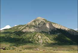 Crested Butte Mountain, Colorado.