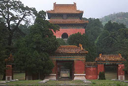 Ming tombs, near Beijing, China.