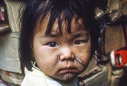 Child in Taiwan.