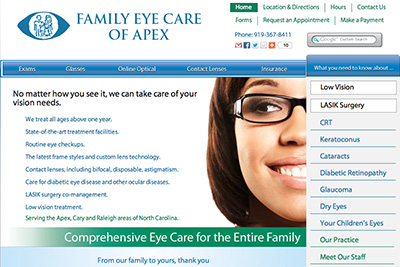 Family Eye Care of Apex