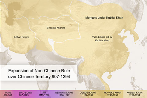 Infographic: The Mongol Empire