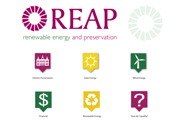 REAP Logo and Icons