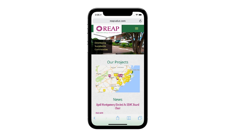 REAP phone view