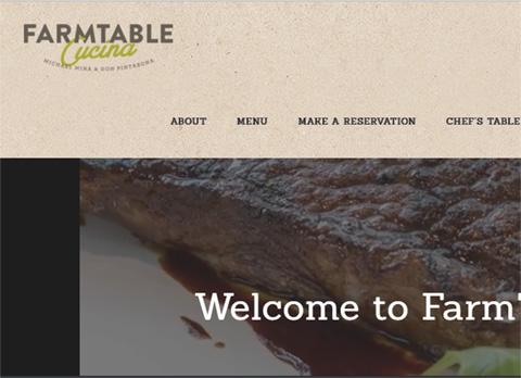 Farm Table Cucina